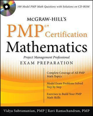 mcgraw hill s pmp certification mathematics with cd rom vidya rh bookdepository com PMP Study Guides PDF PMP Study Map
