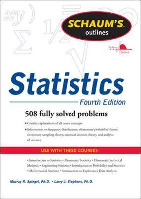 Schaums Outline of Statistics, Fourth Edition