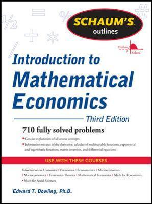 Pdf econometrics outline and schaum statistics of