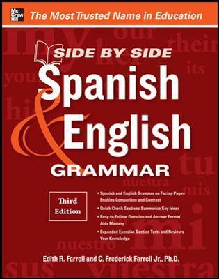 Side By Side Spanish And English Grammar Edith R Farrell