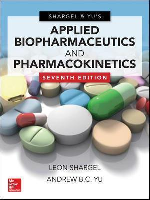 applied biopharmaceutics pharmacokinetics shargel