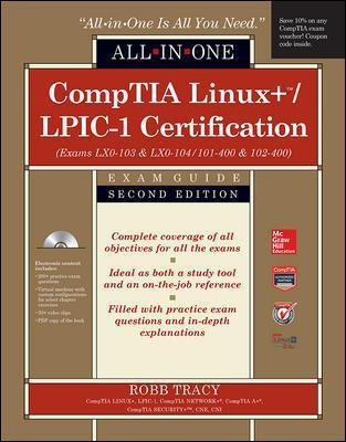 Comptia Linux Lpic 1 Certification All In One Exam Guide Second