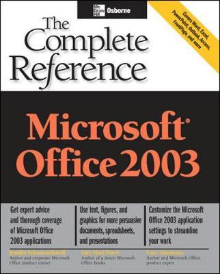 microsoft office 2003 the complete reference curt simmons