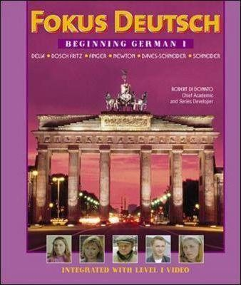 Fokus Deutsch Beginning German 1 (Student Edition + Listening Comprehension Audio CD)