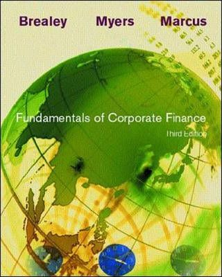 Fundamentals of Corporate Finance with student CD-ROM