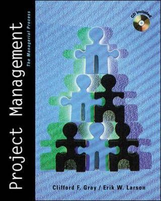 Project Management: The Management Process w/ Student CD-ROM(with