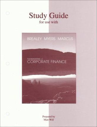 Fundamentals of Corporate Finance: Study Guide