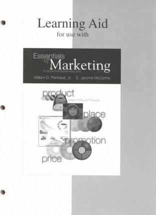Learning Aid for Use With Essentials of Marketing