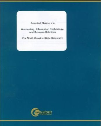Selected Chapters in Accounting, Information Technology, and Business Solutions