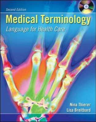 Medical Terminology: With Student CD-ROM and English Audio CD