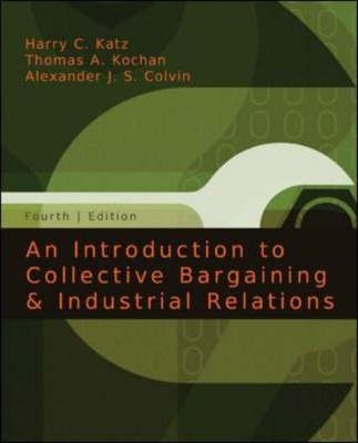 characteristics of collective bargaining industries Bargaining power is the relative ability of parties  a range of outcomes based on the parties' characteristics and behavior  bargaining collective.