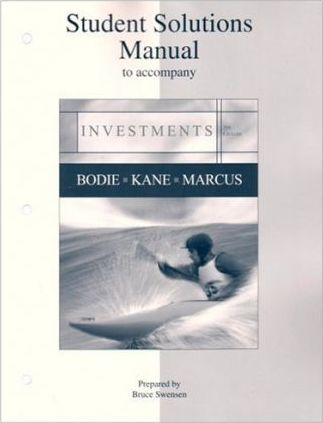 investments student solutions manual zvi bodie 9780073269702 rh bookdepository com Quality Control Student Solutions Manual Digital Designs
