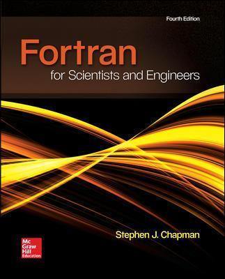 FORTRAN FOR SCIENTISTS & ENGINEERS