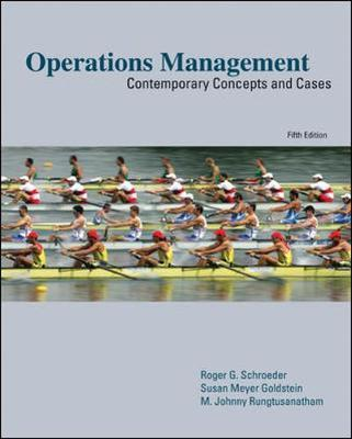 Operations Management: Contemporary Concepts and Cases : Roger