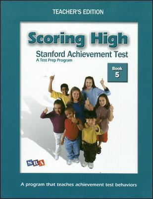 Scoring High on the SAT/10, Teacher's Edition and Poster Package, Grade 5