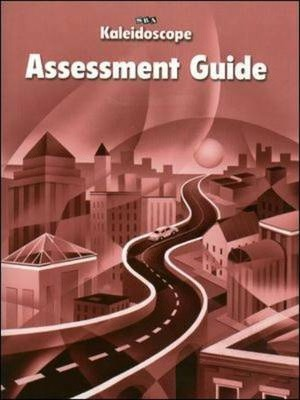 Kaleidoscope - Assessment Guide Workbook - Level D