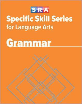Specific Skill Series for Language Arts - Grammar Book - Level D