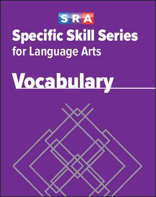Specific Skill Series for Language Arts - Vocabulary Book - Level E