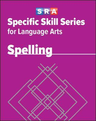 Specific Skill Series for Language Arts - Spelling Book - Level G