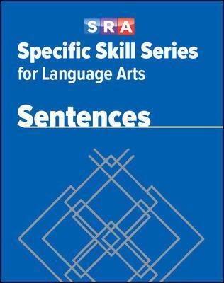 Specific Skill Series for Language Arts - Sentences Book - Level G