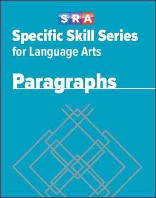 Specific Skill Series for Language Arts - Paragraphs Book - Level G