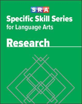 Specific Skill Series for Language Arts - Research Book - Level G