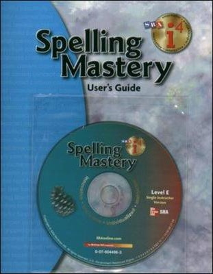 Spelling Mastery - Additional I4 Software Single Instructor Version - Level E