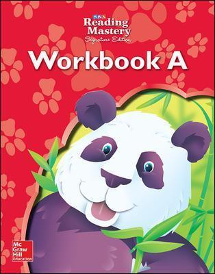 Reading Mastery Reading/Literature Strand Grade K, Workbook A