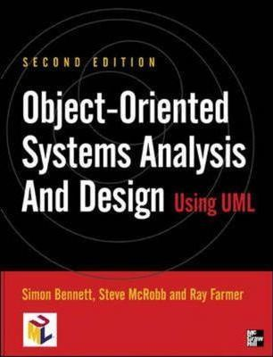 Object Oriented Information Systems Analysis And Design Using Uml Simon Bennett 9780077098643