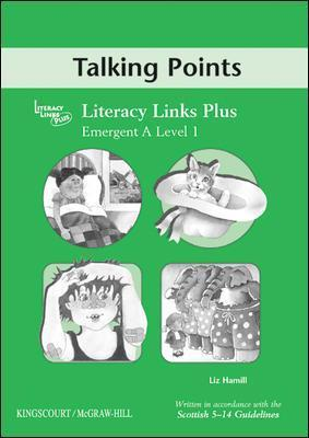 Emergent B (level 2) Talking Points, Teacher' Notes for Literacy Links Plus