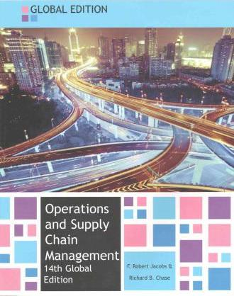 Operations And Supply Chain Management Jacobs Pdf