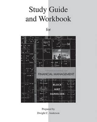Foundations Of Financial Management Study Guide And