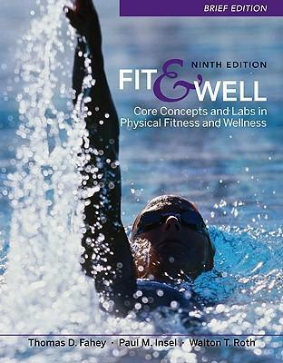 Connect Fitness and Wellness Access Card for Fit & Well, Brief Edition