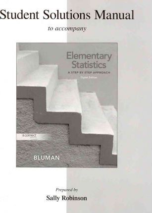 Student Solutions Manual to Accompany Elementary Statistics : Allan