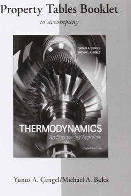 Property Tables Booklet For Thermodynamics An Engineering Approach