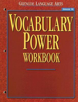 Glencoe Language Arts Vocabulary Power Workbook Grade 10