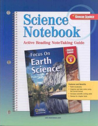 Glencoe Science Notebook Grade 6 California Edition