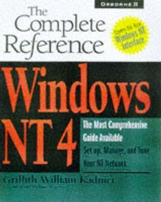 Windows NT 3.51: The Complete Reference