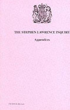 Stephen Lawrence Inquiry: Appendices