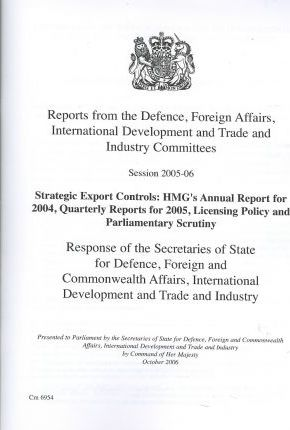 Reports from the Defence, Foreign Affairs, International Development, and Trade and Industry Committees…