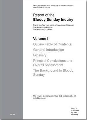 Report of the Bloody Sunday Inquiry: v. 1-10
