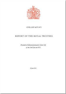 Report of the Royal Trustees
