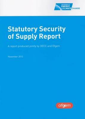 Statutory Security of Supply Report