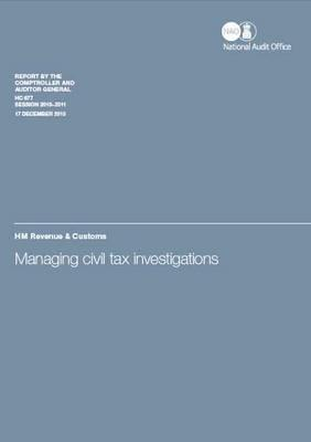 Managing Civil Tax Investigations