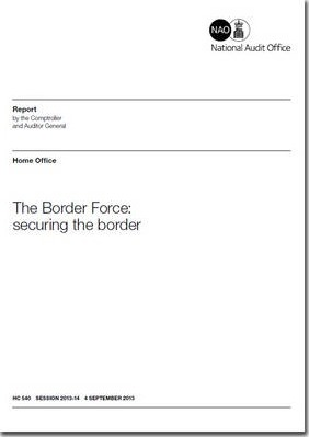 The Border Force  securing the border, Home Office