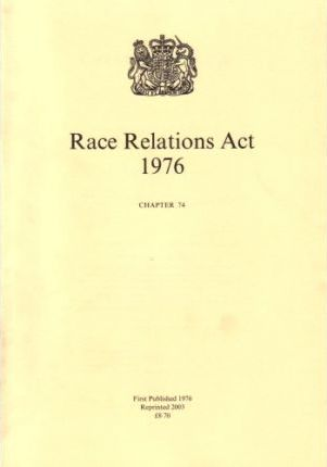 Race Relations Act, 1976