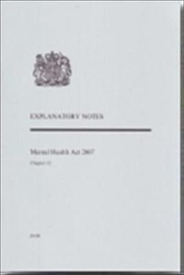 Mental Health Act 2007