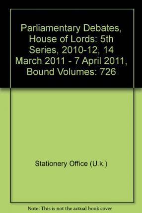 Parliamentary Debates, House of Lords