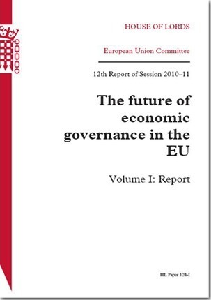 The Future of Economic Governance in the Eu