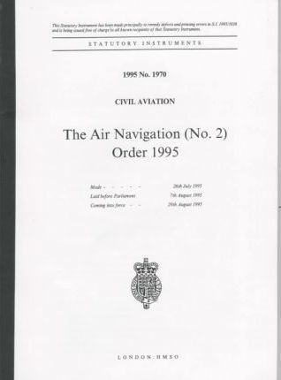 The Air Navigation (No. 2) Order 1995